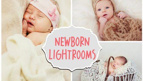 دانلود ۳۰ پریست لایت روم کودک : creativemarket Newborn Lightroom Presets