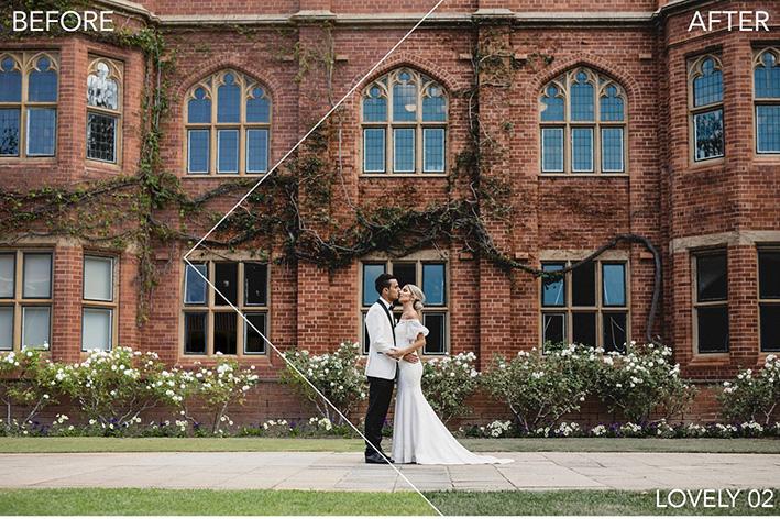 دانلودپریست لایت روم برای عروسی : FineArt Wedding Pro Lightroom Preset