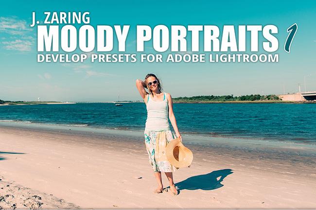دانلود مجموعه پریست لایت روم بنام Moody Portraits Lightroom Presets