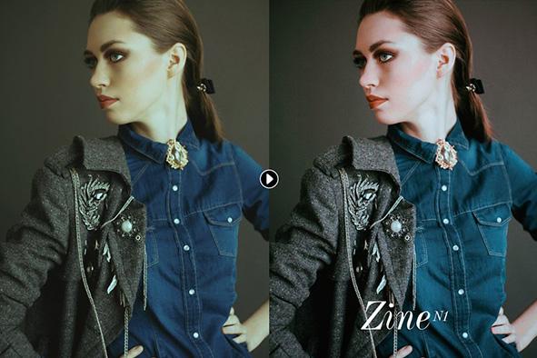 دانلود مجموعه پریست لایت روم  Zine Fashion Lightroom Presets