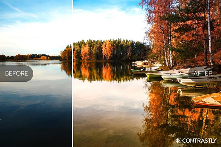 دانلود 35 پریست لایت روم پاییزی :Autumn Harvest LR Presets Vol.1