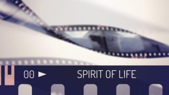 دانلود پروژه آماده افترافکت  تیتراژ حرفه ای Spirit of Life