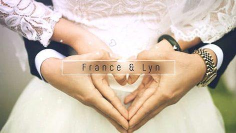 دانلود پروژه آماده افترافکت عروسی : گالری عکس Wedding Gallery