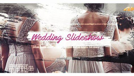 دانلود پروژه آماده افترافکت عروسی : Wedding Brush Slideshow