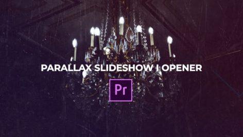 دانلود پروژه آماده پریمیر : اسلایدشو videohive parallax slideshow opener premiere pro