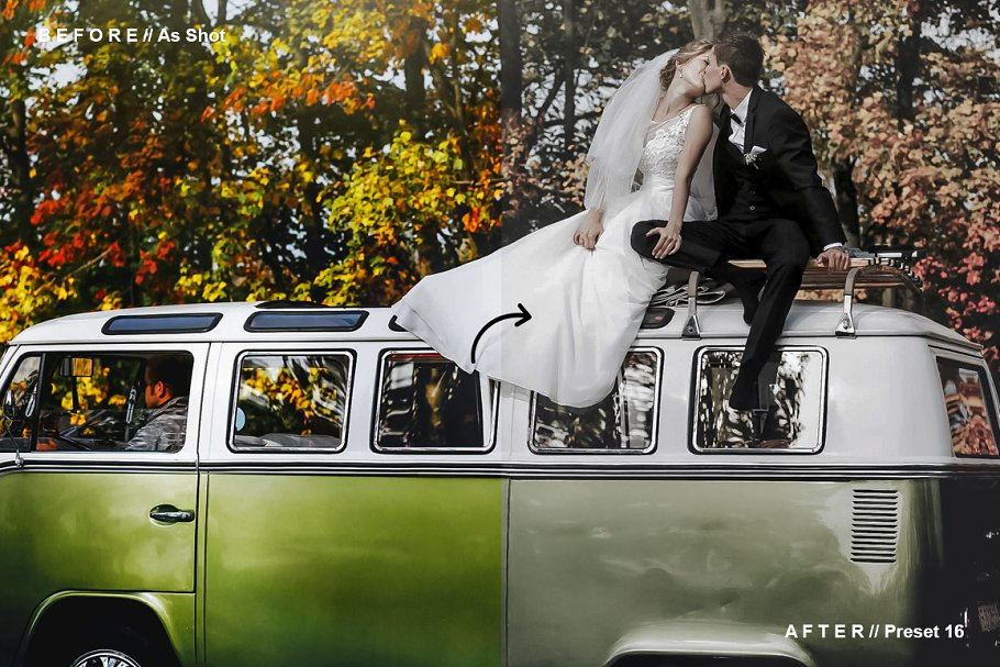دانلود پریست لایت روم برای عروسی  Rustic Wedding Lightroom Presets