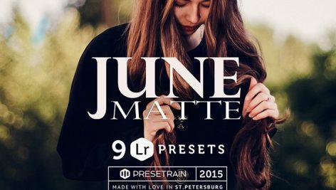 دانلود پریست لایت روم June Matte Lightroom Presets