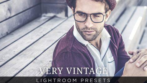 دانلود پریست لایت روم : Very Vintage Lightroom Presets