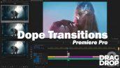 دانلود پکیج 388 ترنزیشن حرفه ای پریمیر Dope Transitions