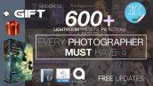 دانلود پکیج 600 پریست لایت روم : LIGHTROOM 600 Presets Mega Bundle