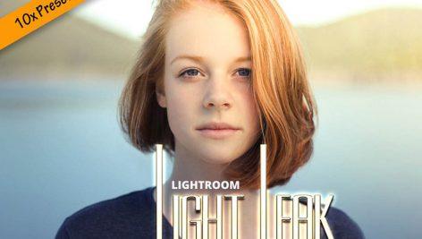 دانلود ۱۰ پریست لایت روم حرفه ای : Lightroom Light Leak Presets