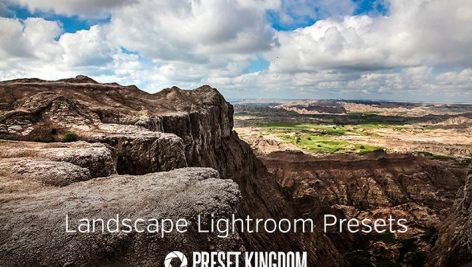 دانلود ۱۰ پریست لایت روم زیبا : Landscape Lightroom Presets
