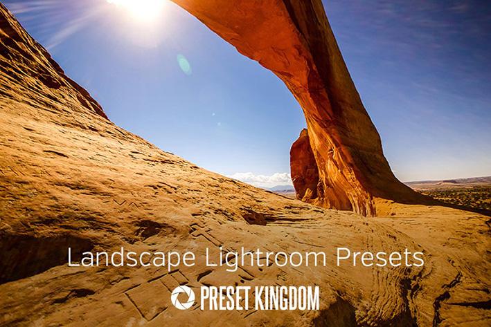 دانلود 10 پریست لایت روم زیبا  Landscape Lightroom Presets