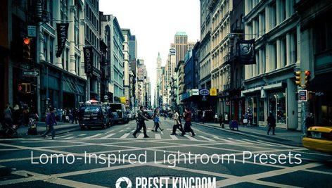 دانلود ۱۰ پریست لایت روم زیبا : Lomo Lightroom Presets