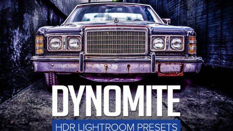 دانلود ۱۰ پریست لایت روم فوق حرفه ای : Dynomite HDR Lightroom Presets