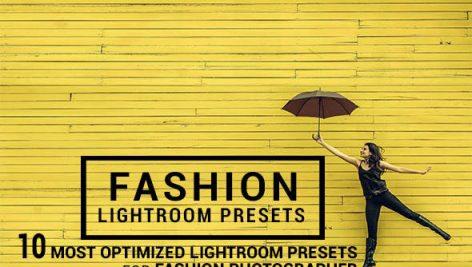 دانلود ۱۰ پریست لایت روم : Graphicriver 10 Fashion Lightroom Presets