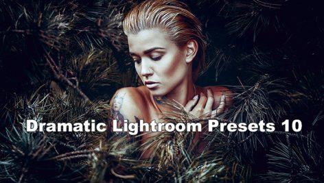 دانلود 10 پریست لایت روم graphicriver Dramatic 10 Lightroom Presets
