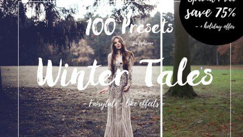 دانلود ۱۰۰ پریست لایت روم حرفه ای : Fairytale Lightroom Presets