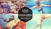 دانلود 100 پریست لایت روم حرفه ای : Underwater Lightroom Presets