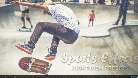 دانلود 100 پریست لایت روم : Sports Effect Lightroom Presets