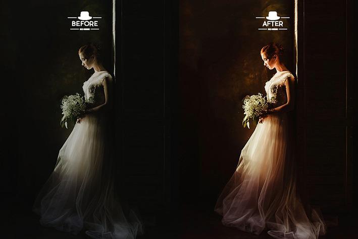 دانلود 110 پریست لایت روم برای عروسی : Moody Wedding Lightroom Presets