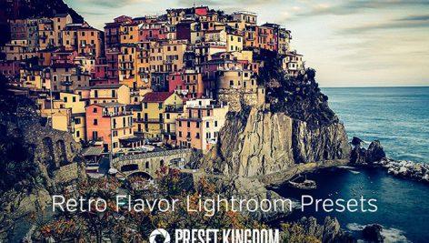 دانلود ۱۵ پریست لایت روم زیبا : Retro Flavor Lightroom Presets