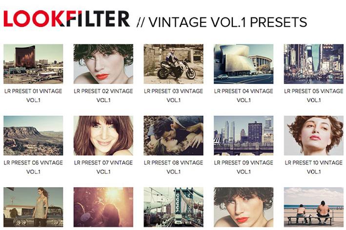 دانلود 20 پریست لایت روم Vintage 20 Lightroom Presets Vol.1