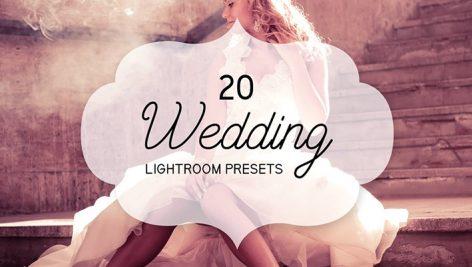 دانلود ۲۰ پریست لایت روم : Wedding 20 Lightroom Presets