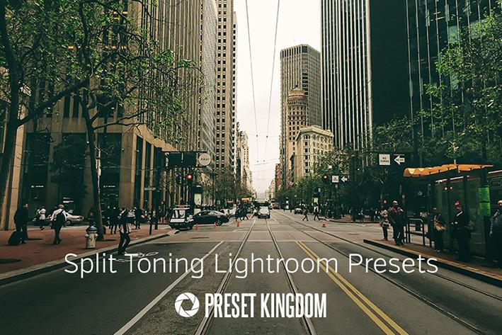 دانلود 23 پریست لایت روم زیبا  Split Toning Lightroom Presets