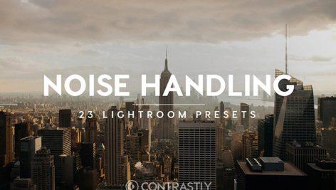 دانلود 23 پریست لایت روم فوق حرفه ای : Noise Handling Lightroom Presets