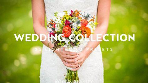 دانلود ۲۵ پریست لایت روم حرفه ای عروسی : Wedding Collection Lightroom Presets