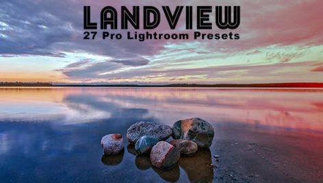 دانلود ۲۷ پریست لایت روم : Graphicriver Landview Pro Lightroom Presets