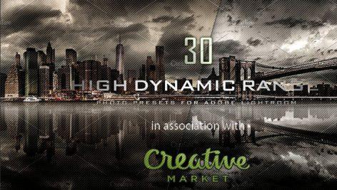 دانلود ۳۰ پریست لایت روم :HDR 30 PRO Lightroom Presets