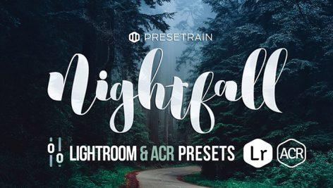دانلود ۳۰ پریست لایت روم : Nightfall Lightroom ACR Presets