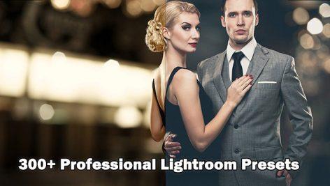 دانلود ۳۰۰ پریست لایت روم : Professional 300 Lightroom Presets bundle