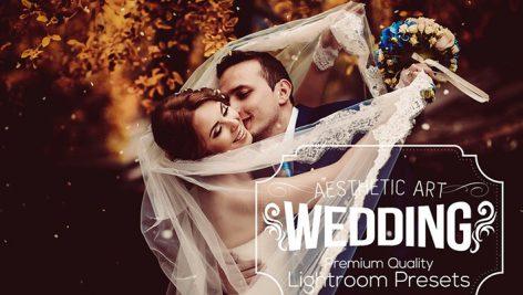 دانلود ۳۱ پریست لایت روم عروسی : Aesthetic Wedding Lightroom Presets