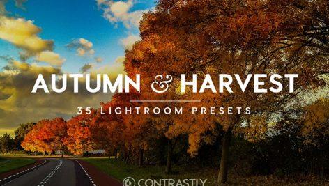 دانلود ۳۵ پریست لایت روم پاییزی :Autumn Harvest LR Presets Vol.1
