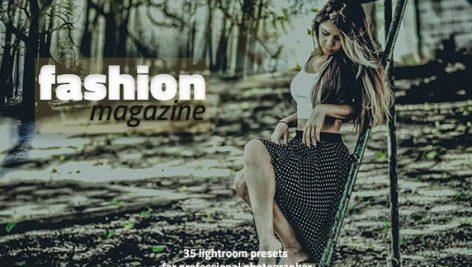دانلود ۳۵ پریست لایت روم : Fashion 35 Magazine Lightroom Presets