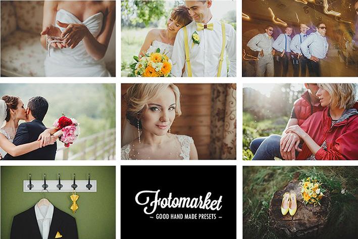 دانلود 40 پریست لایت روم حرفه ای عروسی : Film Wedding Lightroom Presets
