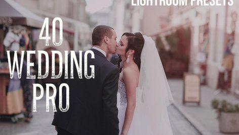 دانلود ۴۰ پریست لایت روم مخصوص عروسی : Wedding Pro Lightroom Presets