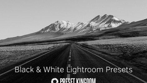 دانلود 40 پریست لایت روم زیبا : Black & White Lightroom Presets
