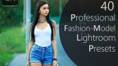 دانلود 40 پریست لایت روم : Pro Fashion Model Lightroom Presets