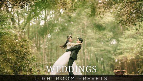 دانلود ۴۵ پریست لایت روم : Creativemarket Wedding Lightroom Presets