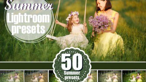 دانلود 50 پریست لایت روم حرفه ای : Spring Summer Lightroom Presets