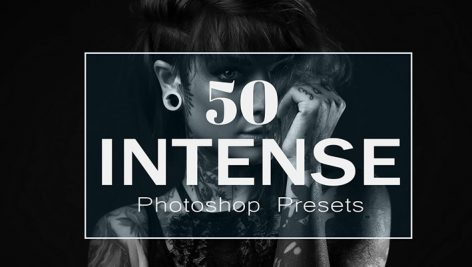 دانلود 50 پریست لایت روم : CreativeMarket 50 Intense Lightroom Presets