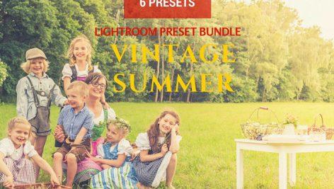 دانلود ۶ پریست لایت روم : Summer Vintage Lightroom Presets