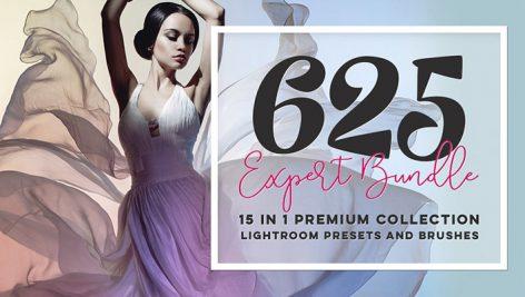 دانلود 625 پریست حرفه ای لایت روم : Expert Bundle Lightroom Presets