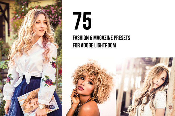 دانلود 75 پریست لایت روم CreativeMarket 75 Editorial Lightroom & ACR Presets