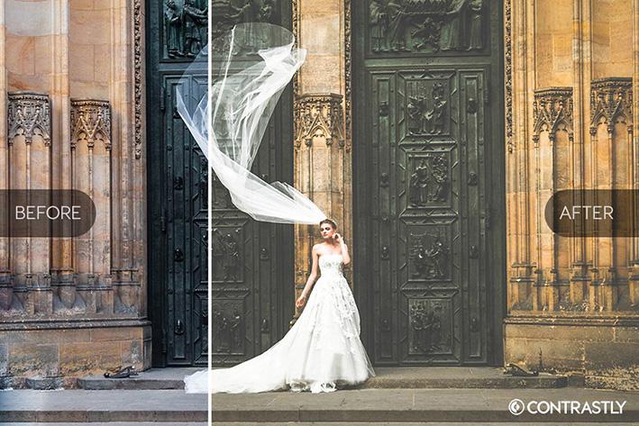 دانلود 25 پریست لایت روم حرفه ای عروسی : Wedding Collection Lightroom Presets