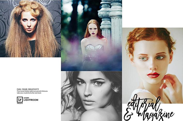 دانلود 30 پریست لایت روم حرفه ای : Editorial Magazine Lightroom Preset